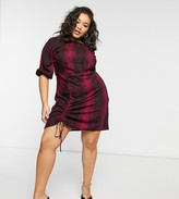 Thumbnail for your product : Koko adjustable front dress in snake print