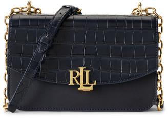 Ralph Lauren Medium Leather Crossbody Bag