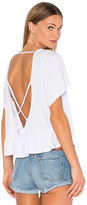 Bobi Light Weight Open Cross Back Tee