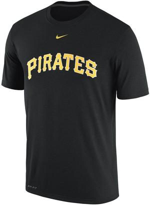 Nike Men's Black Pittsburgh Pirates Legend Logo Performance T-Shirt