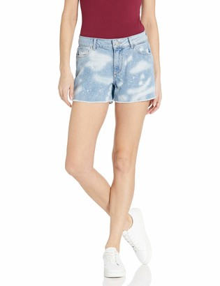 DL1961 Women's Karlie Boyfriend Fit Cutoff Short