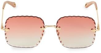 Chloé Rosie 59MM Square Sunglasses