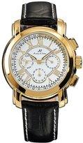 K&S KS Golden 6 Hands Luxury Leather Automatic Mechanical Men's Sport Wrist Watch KS047