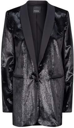 Pinko Velvet Tuxedo Blazer