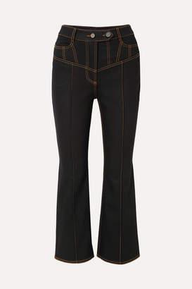 Ellery Presentism High-rise Flared Jeans - Black