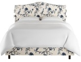 Wayfair Custom Upholstery Wayfair Custom UpholsteryTM Shelby Upholstered Standard Bed Size: Queen, Body Fabric: Duck Navy