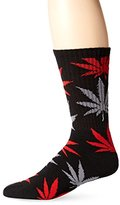 HUF Men's Plantlife Crew Sock