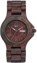 WeWood Men's Roman Wood Wooden Watch (Chocolate Brown)