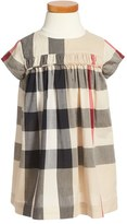 Burberry 'Ariadne' Check Woven Dress (Toddler Girls)