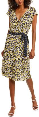 Velvet by Graham & Spencer Romina Faux Wrap Dress