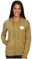 Life is Good Spread Good Vibes Heart Go-To Zip Hoodie