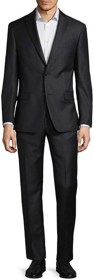 Michael Kors Sharkskin Wool Suit
