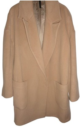 Topshop Tophop Boutique Camel Wool Coat for Women
