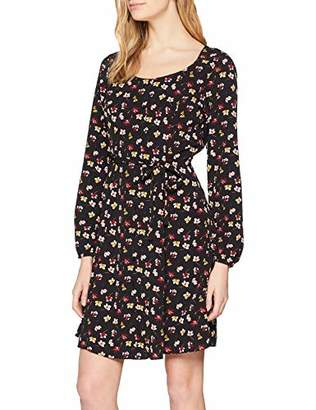 Dorothy Perkins Women's Floral Button Fit and Flare Dress,(Manufacturer Size:)