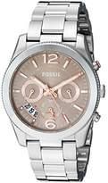 Fossil Women's ES4146 Perfect Boyfriend Sport Multifunction Stainless Steel Watch