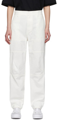 Ambush White Cargo Trousers