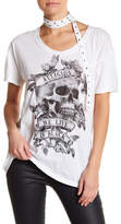 Religion Sensation Choker Neck Short Sleeve Tee