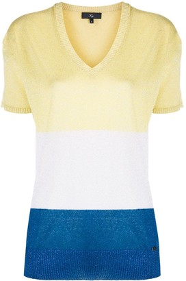 Fay Glitter Knit Top