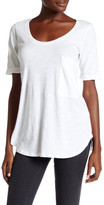 Allen Allen Cuffed Pocket Tee