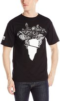 Crooks & Castles Men's Knit Crew T-Shirt Warped Tour