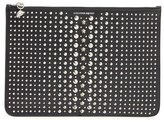 Alexander McQueen Studded Leather Pouch - Black
