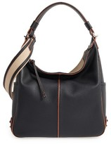 Tod's Miky Leather Hobo - Black