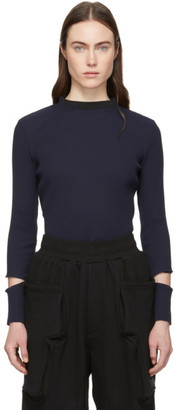 Perks And Mini Navy Echoing Waves Sweater