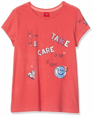 S'Oliver Girl's 53.908.32.5696 T-Shirt