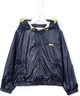 MSGM logo hooded jacket