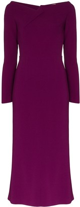 Roland Mouret Romolo fitted midi dress