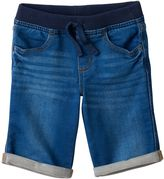 Boys 4-7x SONOMA Goods for LifeTM Rolled-Cuff Denim Shorts
