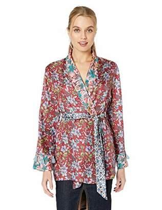 For Love and Liberty Women's Kimono Wrap Top