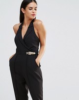 Forever Unique Antonia Halterneck Jumpsuit