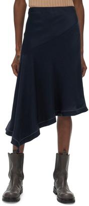 Helmut Lang Scarf Slip Skirt