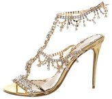 Marchesa 2016 Embellished Grace Sandals w/ Tags