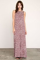 RVCA Juniors Rite Moves Maxi Dress with Built in Bra