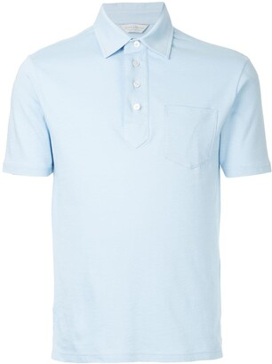 Gieves & Hawkes Short Sleeved Polo Shirt