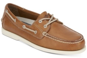Dockers Vargas Leather Boat Shoes Men's Shoes