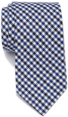 Tommy Hilfiger Preppy Micro Plaid Tie - XL