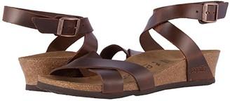 Birkenstock Lola by Papillio (Cognac Leather) Women's Sandals