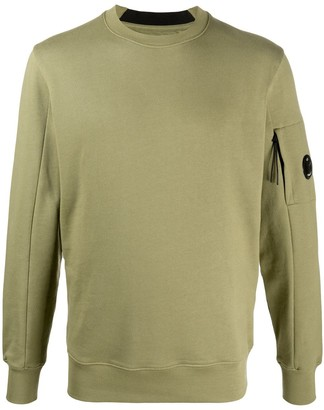 C.P. Company Fitted Long-Sleeve Jumper
