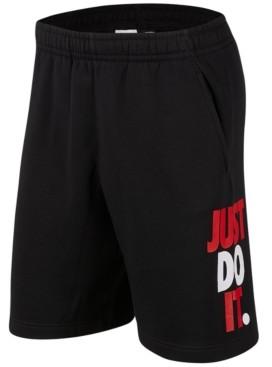 Nike Men's Sportswear Just Do It Fleece Shorts