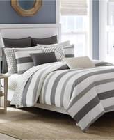 "Nautica Chatfield 14"" x 20"" Embroidered Decorative Pillow Bedding"