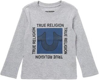True Religion Waffle Long Sleeve T-Shirt
