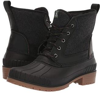 Kamik Sienna Mid (Black) Women's Boots