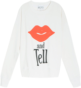 Wildfox Couture Kiss And Tell Ls Sweater