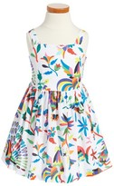 Milly Minis Toddler Girl's Emaline Folkloric Dress