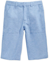 Sean John Linen Shorts, Big Boys (8-20)