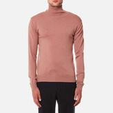 Oliver Spencer Men's Merino Roll Neck Jumper Westbourne Pink