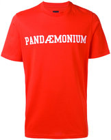 Oamc Pandaemonium print T-shirt - men - Cotton/Polyamide/Spandex/Elastane - S